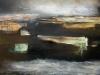 """""""Black ice"""" (Oil on wood panel 40x60 cm) - 5800 SEK"""