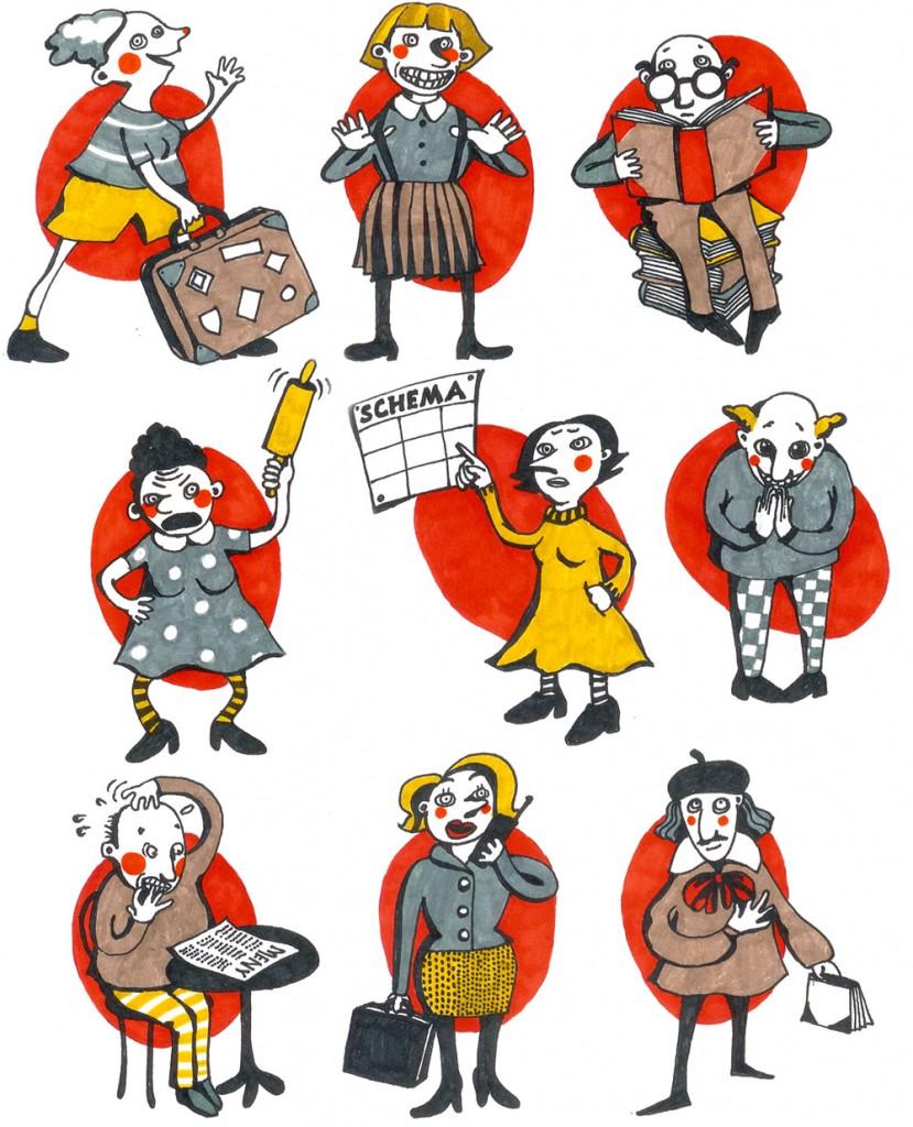 Illustration Lotta Geffenblad: Find you motivation